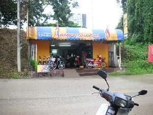レンタルバイク屋