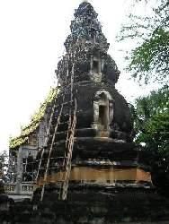 ワット・クー・タオの瓢箪仏塔