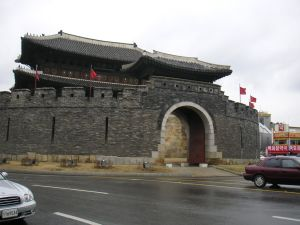 華城四大門の南門 八達門