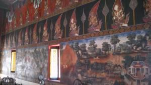 ワット・スワン・ダララムの壁画
