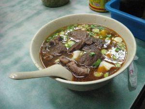 紅焼刀削麺