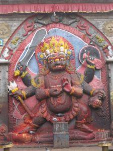 破壊神シヴァの化身                   カーラ・バイラヴ