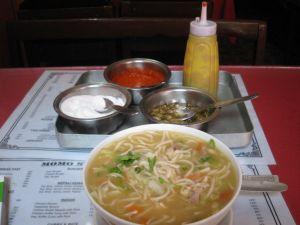 トゥクパ(チベット料理)